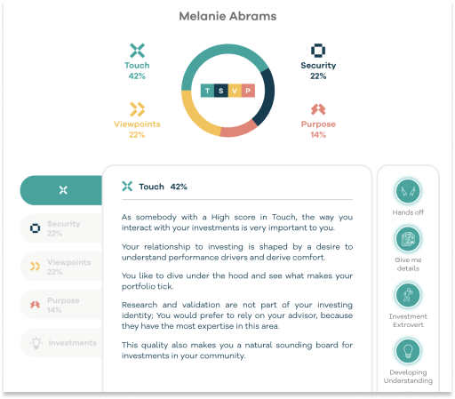 Tap The Potential of Personality-Aligned Portfolios